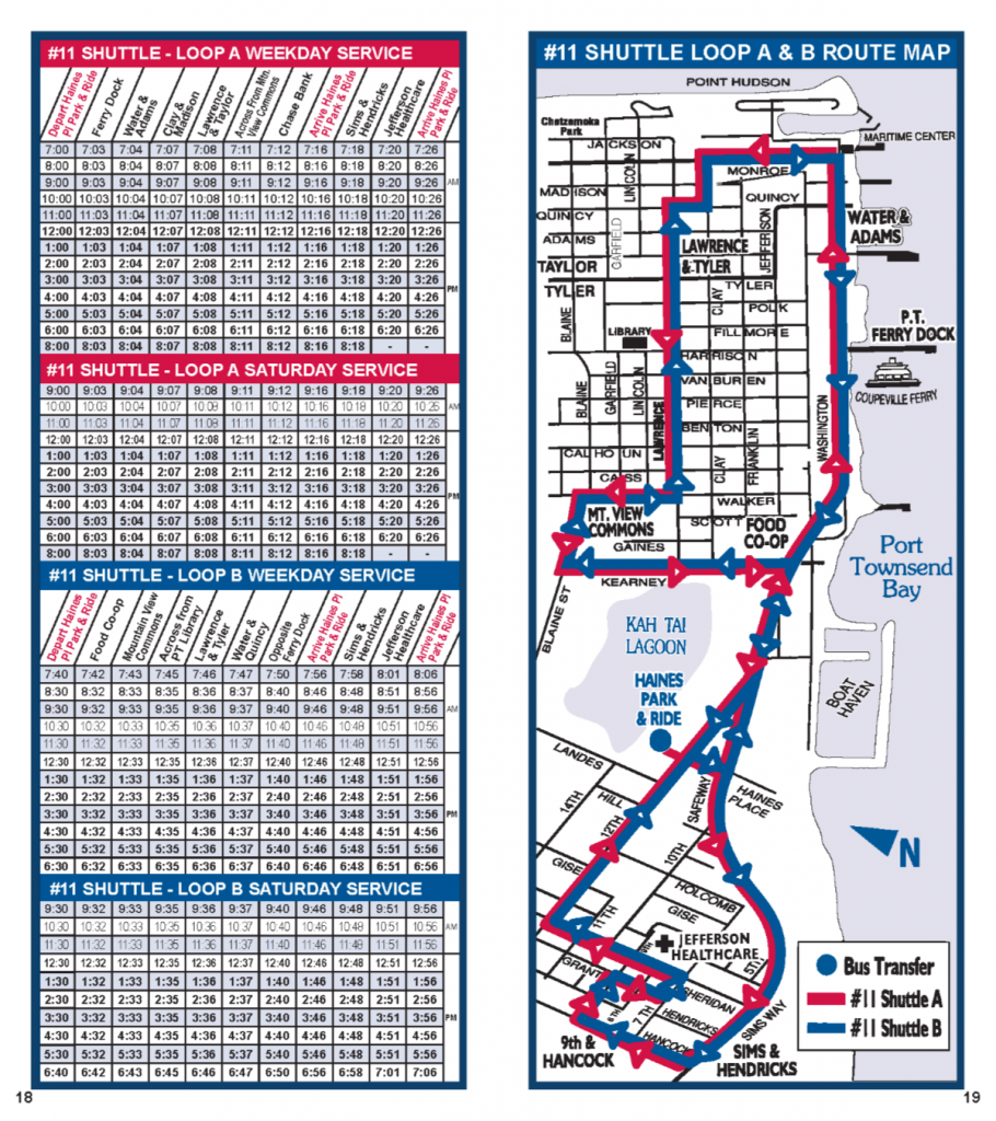 02-20-17 schedule Shuttle Schedule & Map