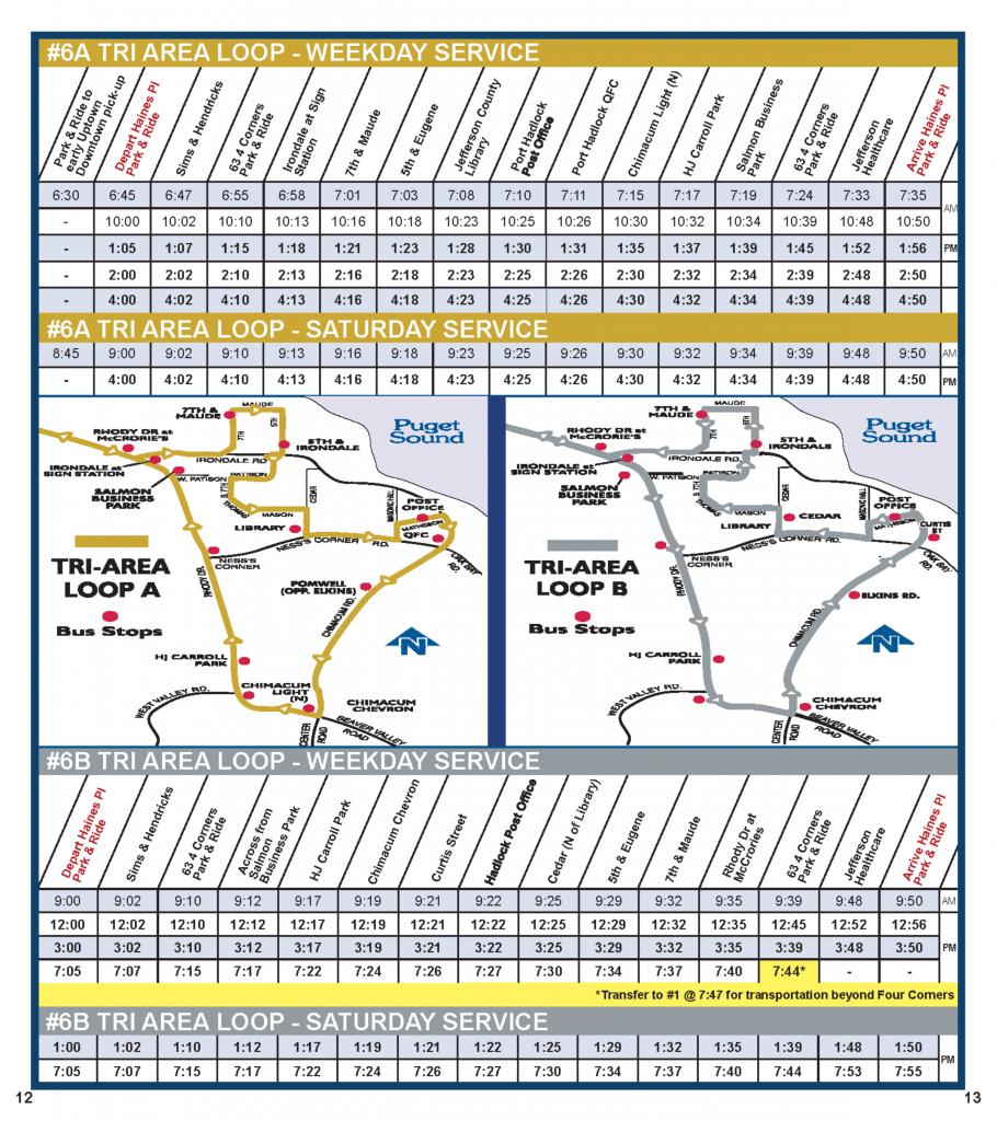 02-20-17 schedule Tri-Area Schedule & Map