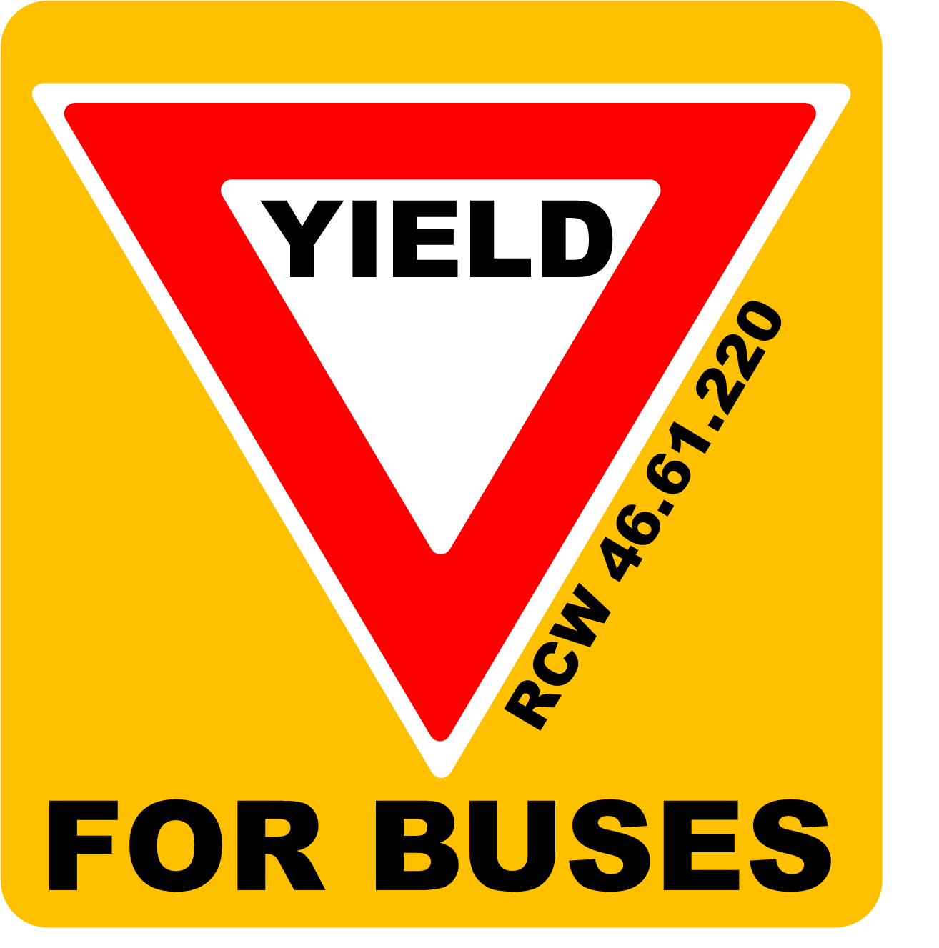 Yield to Buses