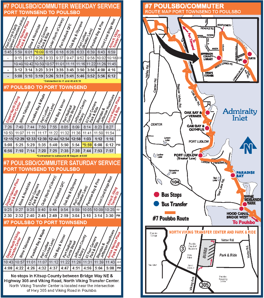 7 poulsbo / port ludlow / tri area route « jefferson transit
