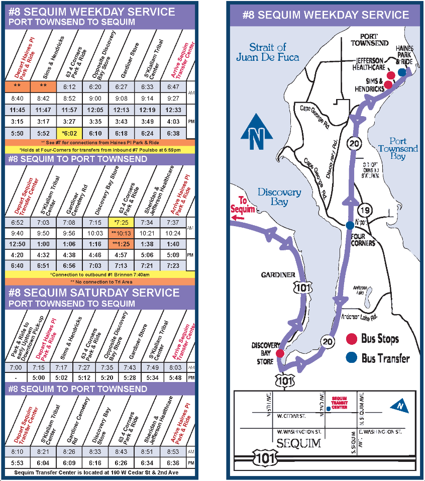 8 sequim route « jefferson transit